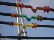 长距离连接,母线中间加伸缩节
